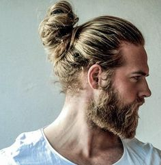 New Man Bun Hairstyle Trend: The Low Undercut - Man Bun Hairstyle