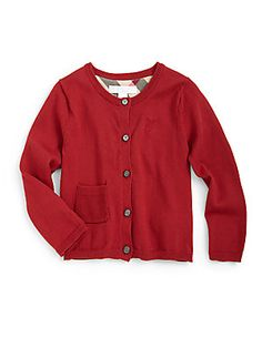 Burberry Toddler's Cotton Cardigan