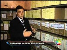 Major Olímpio - SBT Brasil - Falta de estrutura em Delegacias e Quartéis...