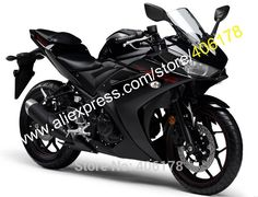 417.05$  Watch here - http://ali0eo.worldwells.pw/go.php?t=32766029532 - Hot Sales,Sportbike Body Kit For Yamaha R25 R 25 15 16 R3 R 3 2015 2016 Black Bodyworks Motorcycle Fairing (Injection molding) 417.05$