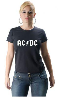 Camiseta ACDC - Loja de Camisetas|Camisetas Era Digital