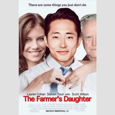 Steven Yeun, Lauren Cohan and Scott Wilson in The Famer's Daughter | twdnotofficial (IG)  Tags: #twd #thewalkingdead #walkingdead #twdparodyposters #maggiegreene #glennrhee #gleggie #hershelgreene #laurencohan #stevenyeun #scottwilson