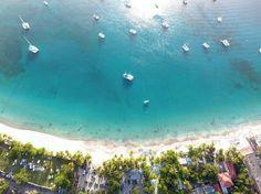 Welcome to the #BVI ! Sharing my piece of #paradise     #canegardenbay #caribbeanlife #lifestyle #dronelife #dji #phamtom4 #vlogger #vacation #birdeyeview #beach #sun #summer #summer2017 #bali #fiji #islandgyal #islandvibes #caribbean #takemethere #takemeback #borabora #photography