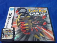 Pokemon Platinum Version ポケットモンスター プラチナ Platino