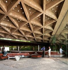 Sheats-Goldstein House by John Lautner (1961-1963) photo by Chimay Bleue. Featured in The Big Lebowski