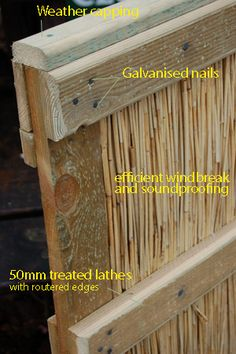 reed fence - Bing Images