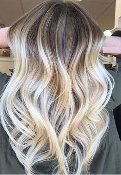 45 Ultimate Platinum Blonde and Balayage Hair Colors in 2018