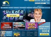 Exklusiver Bonus bis 100€ auf http://www.online-casino.de/sunmaker/ jetzt echte Merkur Spielautomaten online spielen bei Sunmaker!