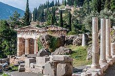 Delphi. World heritage site.