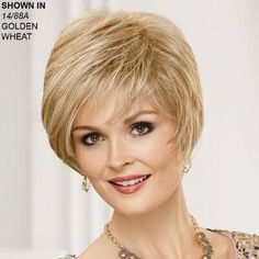 Alexia Human Hair Blend Wig by Paula Young®