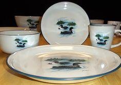 Loon dinnerware