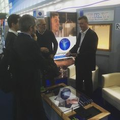 When your exhibition stand draws the right people to you! @moulinagedusolier @pysuchail #techtextil#exhibitionstands#lovewhat youdo