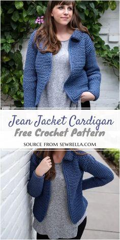 50 Best Crochet Cardigan Patterns (Design & Ideas) For 2021 Crochet Jacket Pattern, Crochet Doily Patterns, Crochet Shawl, Free Crochet, Knit Crochet, Crochet Ideas, Crochet Stitches For Beginners, Crochet Clothes, Pattern Design
