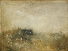 JOSEPH MALLORD WILLIAM TURNER (BRITISH, 1775–1851) - ROUGH SEA, CA. 1840–1845 Marina sin acabar del inglés Turner (Tate, Accepted by the nation as part of the Turner Bequest 1856) Ver más en: http://www.20minutos.es/fotos/artes/grandes-pinturas-inacabadas-11982/?imagen=5#xtor=AD-15&xts=467263 Joseph+Mallord+William+Turner+(British,+1775–1851)+-+Rough+Sea,+ca.+1840–1845