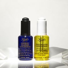 These are the two serums you need for healthy, glowing skin! Essential oils in these natural serums work with skin's natural processes to revive and renew skin. Use Midnight Recovery Concentrate in your nighttime skincare routine and Daily Riving Concentrate in the morning for an added glow under makeup.