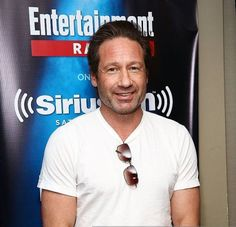 """youokay-mulder: """"lostdogs10: """"David Duchovny visits the SiriusXM Studios on May 13, 2015 in New York City """" Man he looks good, sounds even better too! ;) """""""