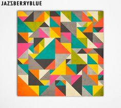 GICLEE Fine Art Print Modern Abstract Art for the por JazzberryBlue, $30.00