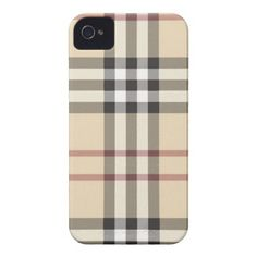 Burberry phone case... If I had an iPhone :)