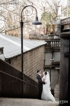 Location > THE ROCKS.   City and urban wedding shoot ideas. Take wedding portraits to the streets of love, romance, excitement and fun!