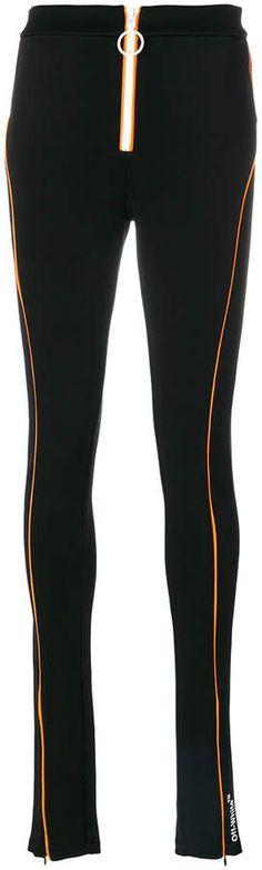 zipped sports leggings #finished#image#sports