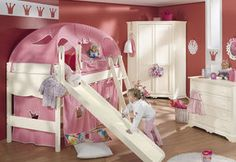 cama alta infantil (niña) SYLVIE  paidi