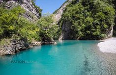 Blini Park. Shala River. Shkoder. Albania