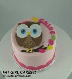 Owl cake idea!