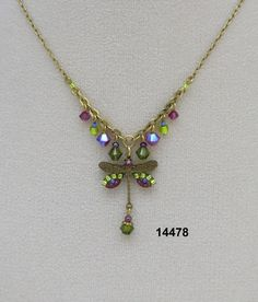 FireFly/Necklace/Dragonfly $49