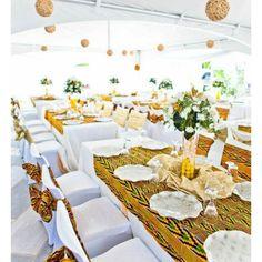 Joli kente mariage add more african print to your wedding wedecoration de mariage lafricaine tissu frquemment kente clothafrican weddingsafrican wedding themeafrican junglespirit Choice Image