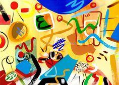 Abstract Interior #32 by Lisa V Robinson