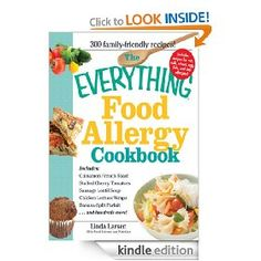 Free Food Allergy Cookbook for the Kindle today!  Peanut, tree-nut, soy, etc!