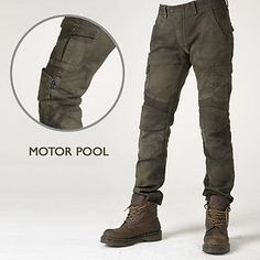 uglyBROS Motorpool Motorcycle Pants Biker Premium Denim Jeans with CE