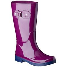 Women's Merona Zaney Polka Dot Rain Boots 83