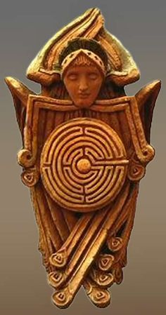 Labyrinthos - Labyrinth and Maze Resource, Photo Library and Archive. Home of Caerdroia: the Journal of Mazes and Labyrinths Labyrinth Maze, Arte Alien, Arte Tribal, Inspiration Art, Art Antique, Religious Art, England, Ancient Art, Sacred Geometry