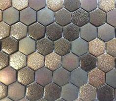 Carrelage Carreaux De Ciment, Carrelage Mosaique, Verre, Mosaique Salle De  Bain, Hexagones