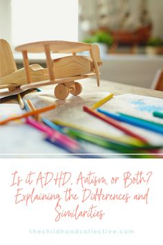 Is it ADHD, autism, or both? ADHD and autism diagnoses in children are quite different, but there are areas that overlap. After an evaluation, many parents are left feeling confused about their child's diagnosis. Check out this blog post, where we explain key similarities and differences between ADHD and autism. #ADHD #autismspectrumdisorder #childpsychology #childtesting Adhd And Autism, Adhd Kids, Speech Language Pathology, Speech And Language, Autism Diagnosis, Adhd Strategies, Similarities And Differences, Behavior Modification, Adult Adhd