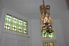 Lamp in hall