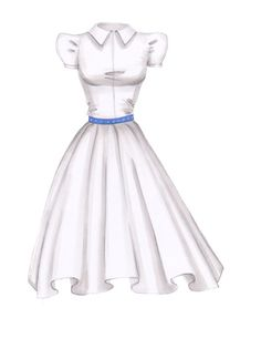 Learn how to draw white fabric for designing wedding gowns and sketching white clothes. From idrawfashion.com  AWESOME TUTORIAL SITE!!
