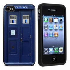 Police Call Box iPhone 4 or 4s Case  - http://coolgadgetsmarket.com/police-call-box-iphone-4-or-4s-case/
