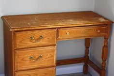 how to for desk refurbish