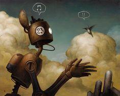 """""""Robot Paintings"""" von Brian Despain. Davon gibt es viel zu wenige ;-)"""