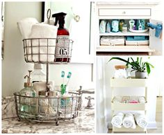 9 Super Clever Ways to Create Extra Space in Your Tiny Bathroom - Chasing Foxes