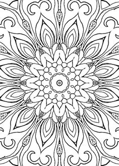 25 Coloring Pages including Mandalas by BuildAMonsterTiles on Etsy