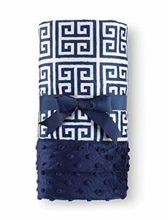 #MudPie Navy Creek Key #Blanket  Price : $34.50 http://www.whimsicalumbrella.com/Mud-Pie-Navy-Creek-Blanket/dp/B00HAZSLWC #whimsicalumbrella