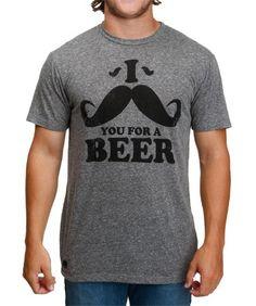 Moustache For Beer Bottle Opener T-Shirt