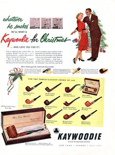 Kaywoodie Pipes For Christmas