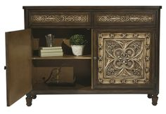 Interior View of Hamilton Chest by Accentrics Home by Pulaski  | The Decorating Diva, LLC