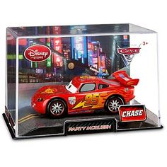 Disney / Pixar CARS 2 Movie Exclusive 148 Die Cast Car In Plastic Case PARTY McQueen Metallic CHASE Edition! by Disney Store. $9.99. This special Chase Edition Lightning McQueen Die Cast Car features an alternative paint scheme and gleaming party wheels. With only a limited quantity available, Lightning fans should strike quickly to get this collectible die cast.