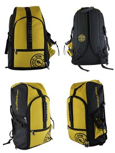 Backpack exclusively manufactured for Golds Gym by Crea - India's smartest brand merchandising company.