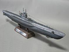 Papercraft4u   Free Papercrafts, Paper Toys, Paper Models, Gratis: Papercraft German U-Boat Type VII C